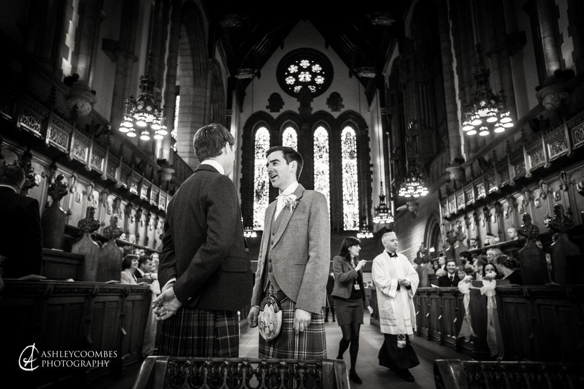 Glasgow University Wedding