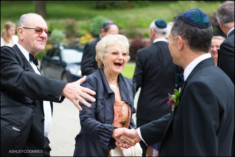 Duntreath Castle Jewish wedding