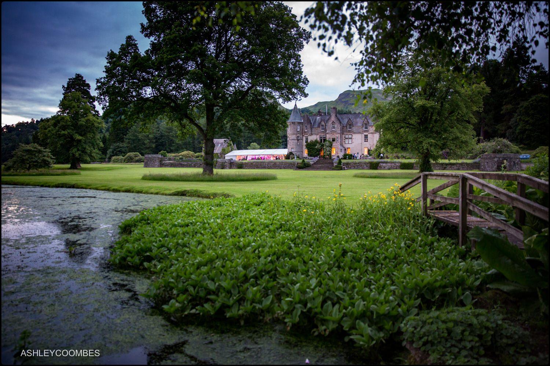 Duntreath Castle wedding marquee