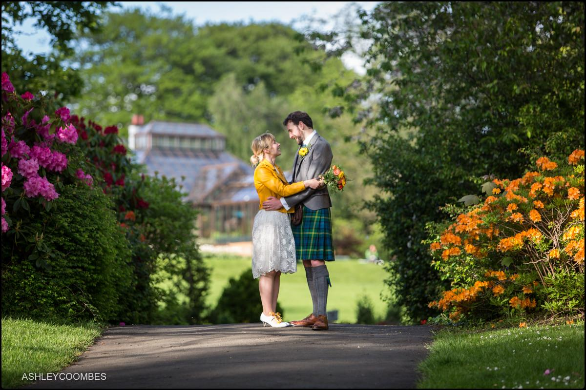Glasgow-Botanical Gardens-Wedding