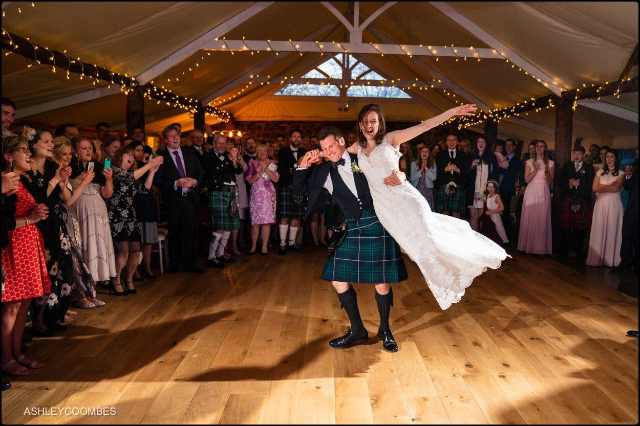 Myres Castle wedding first dance