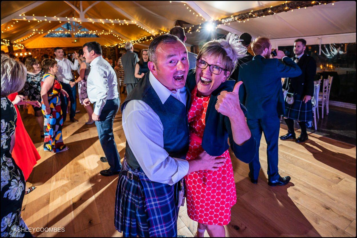 Myres Castle wedding dancing