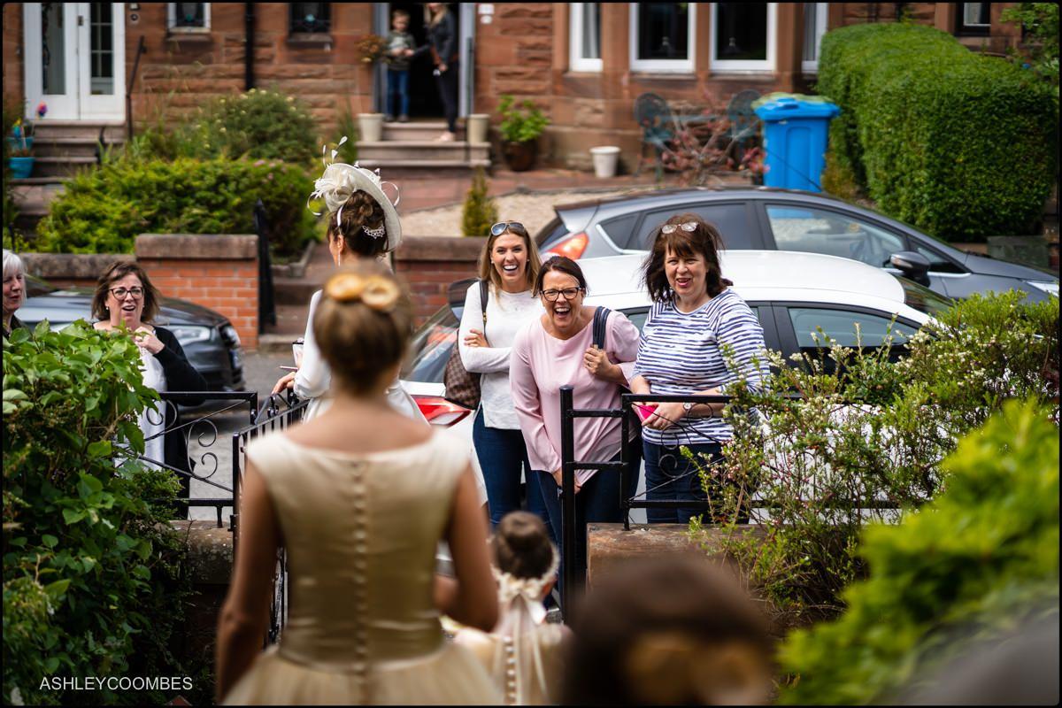 Lochgreen House Hotel wedding preparations
