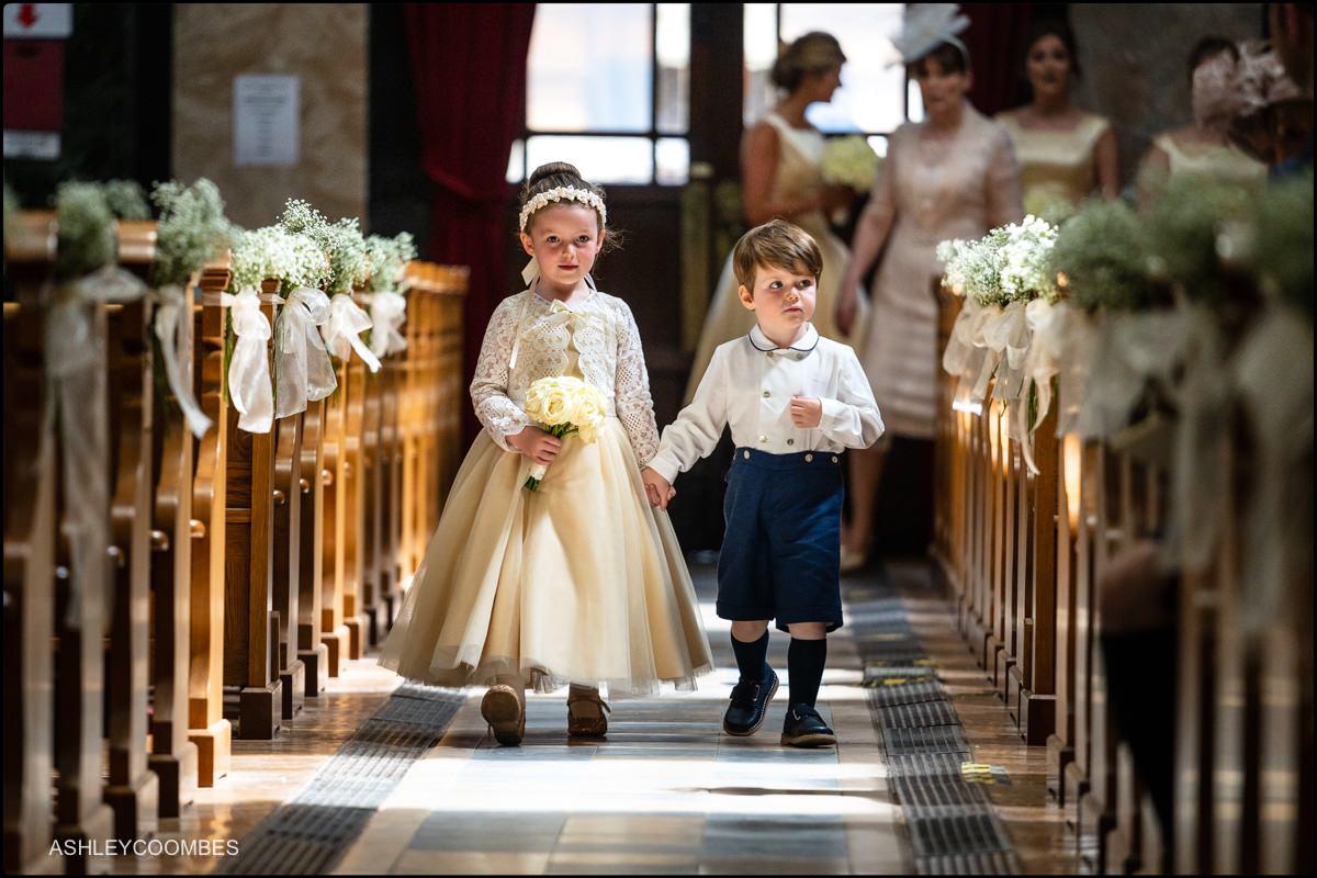 St Aloysius Church wedding