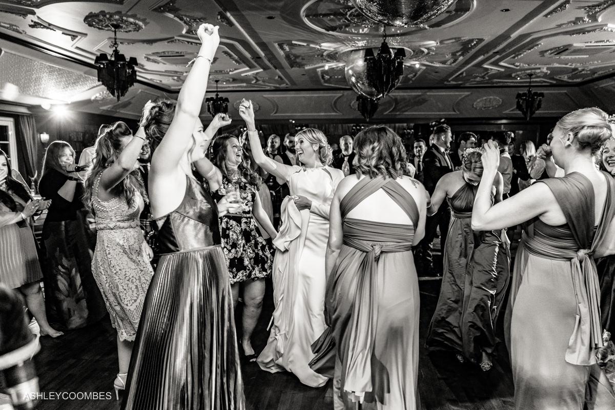 girls on dance floor