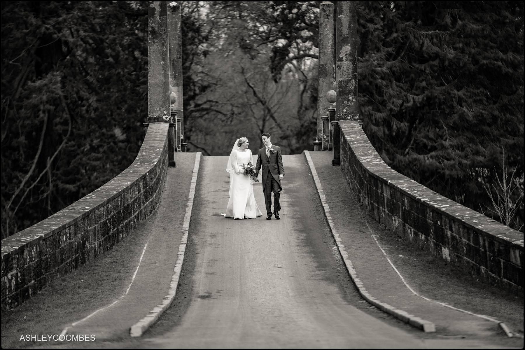 walking over Adam Bridge