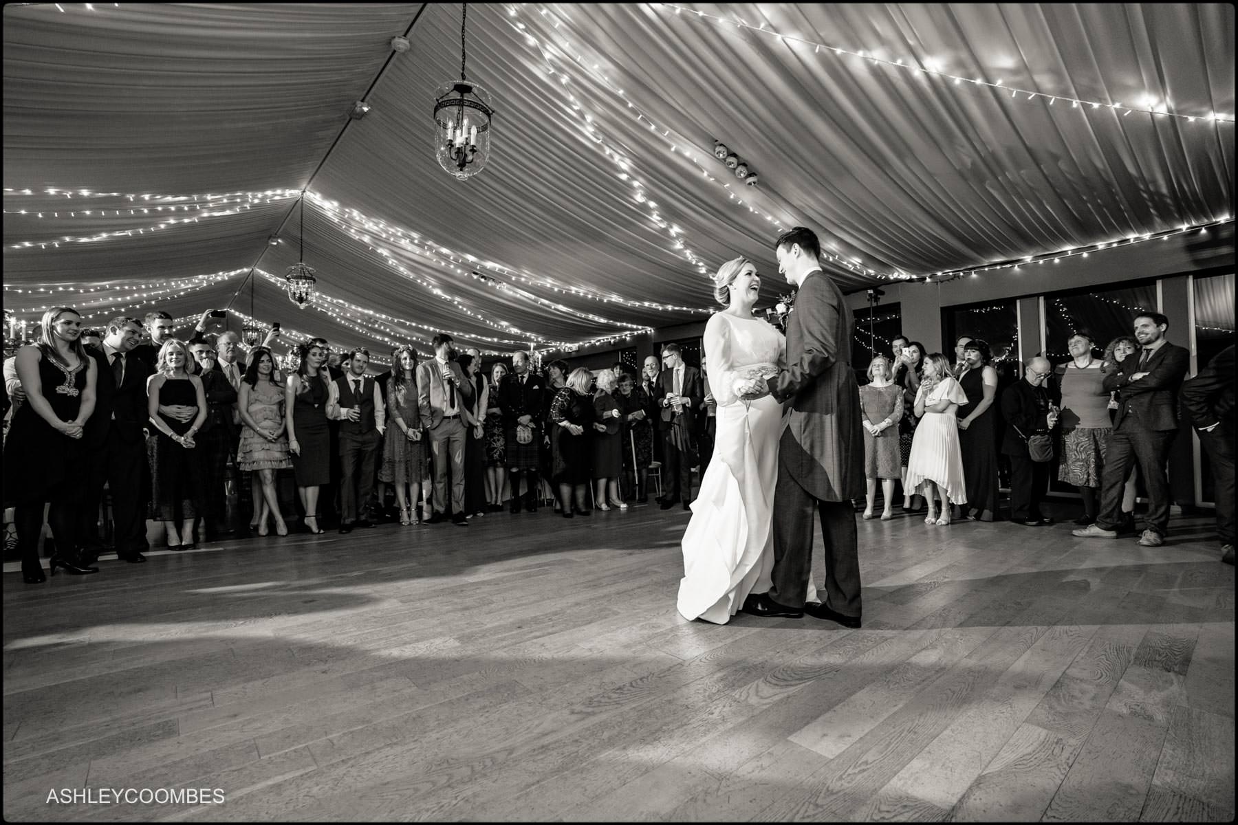 first dance wide angle