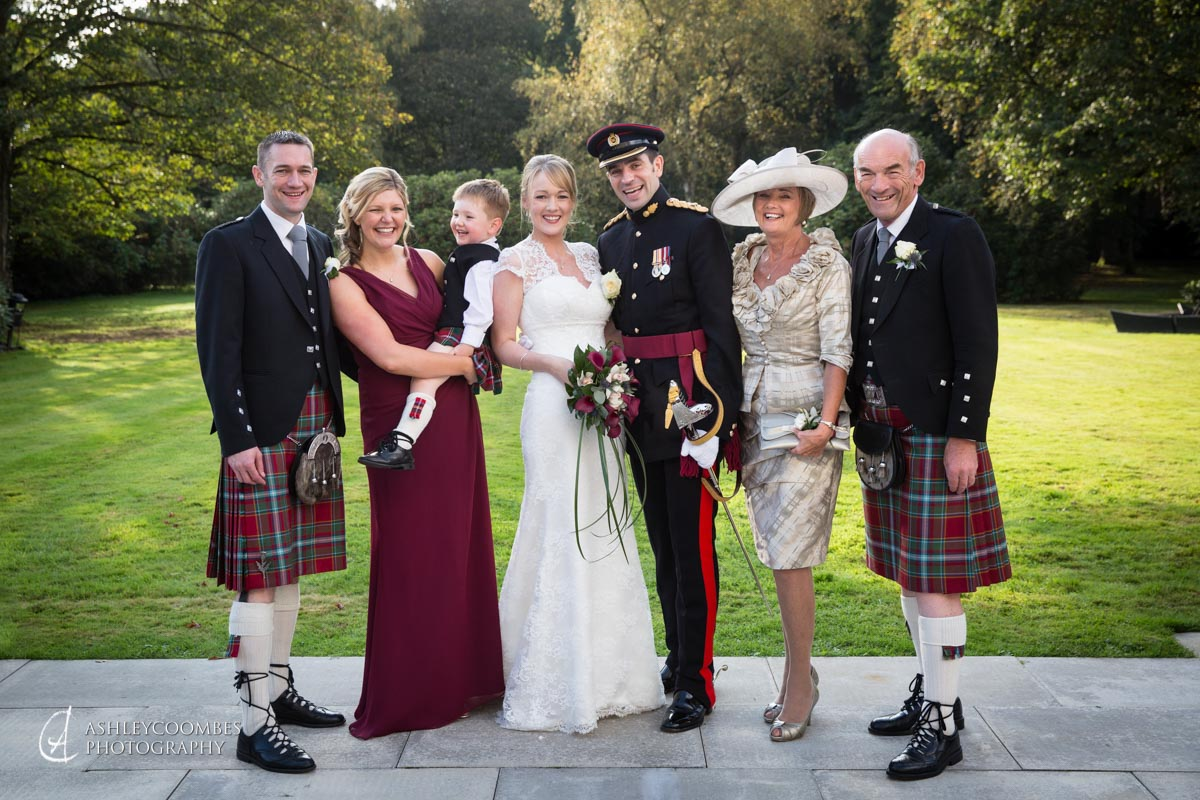 Family Group Photos At Your Wedding Ashley Coombes Photography