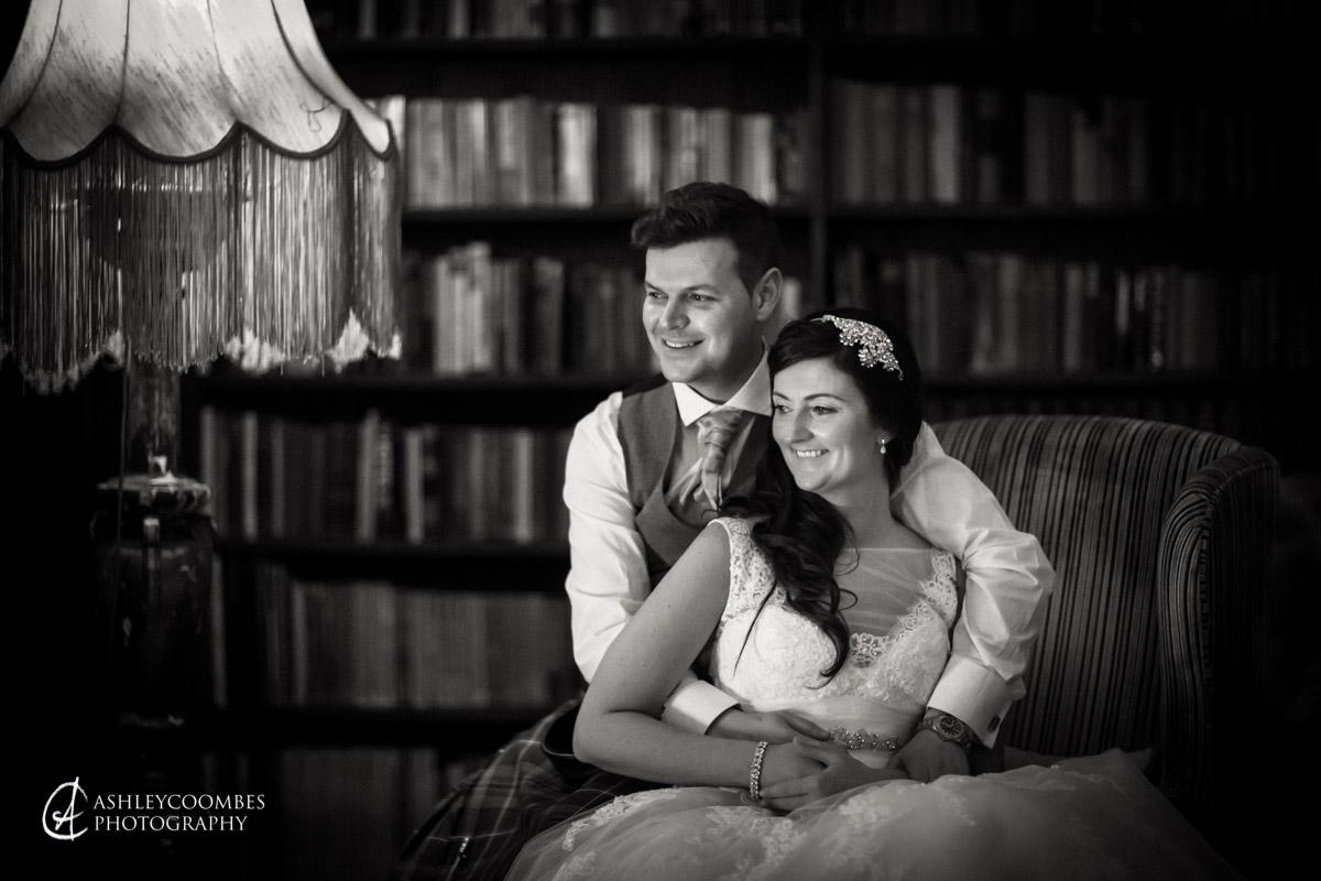 Natural wedding portraits