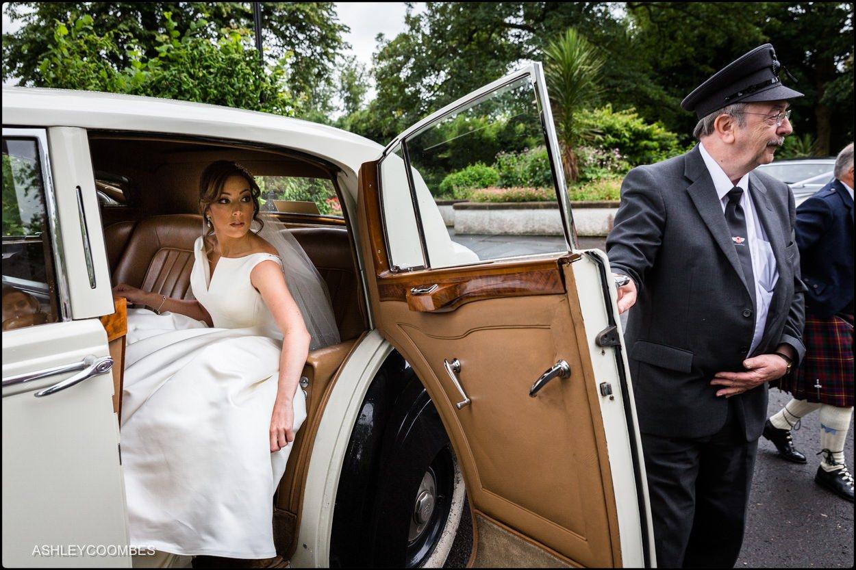 2017 favourite bride arrival