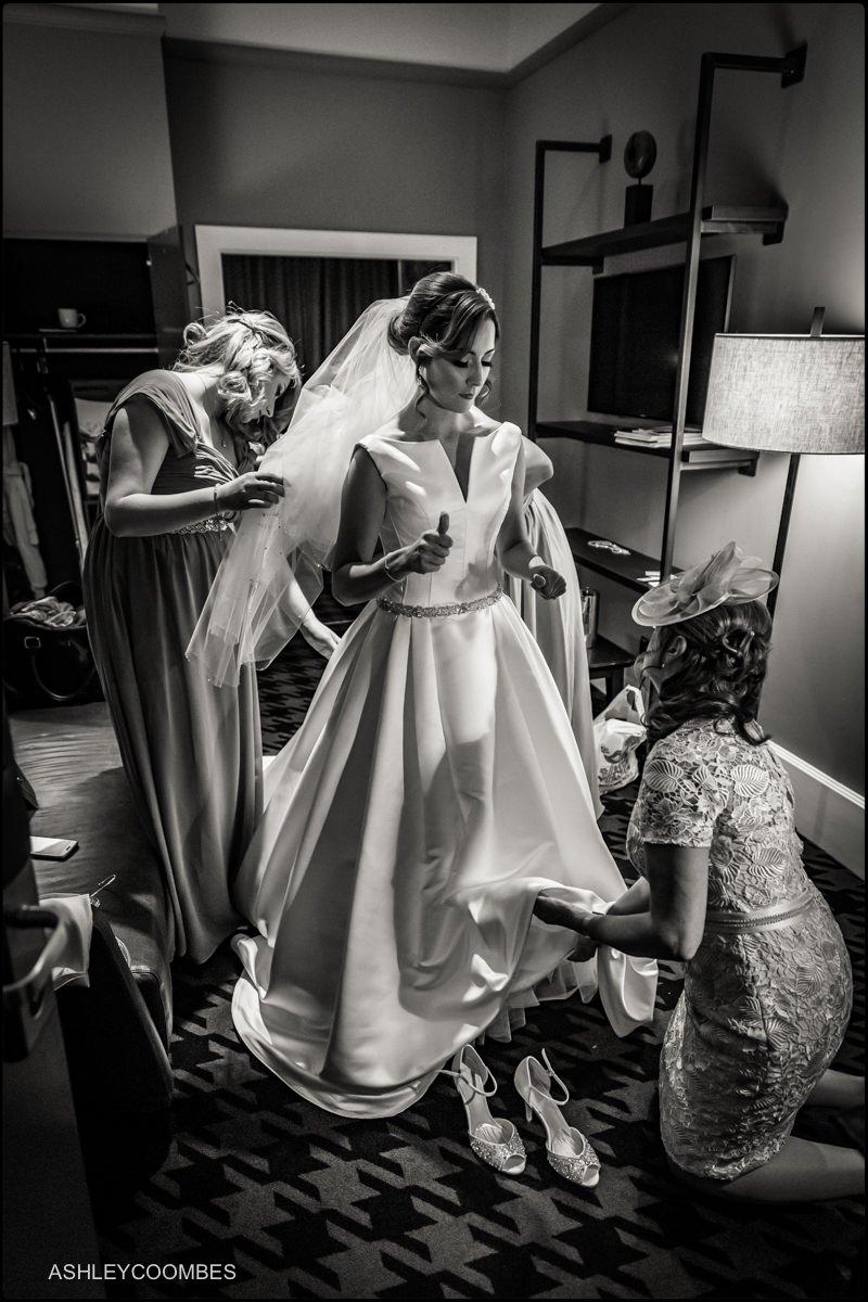 Bridal preparation Malmaison