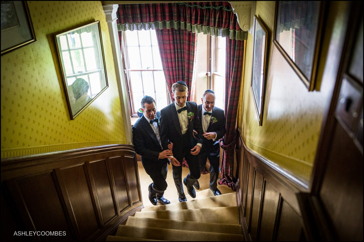 Duntreath Castle Jewish wedding Bedeken