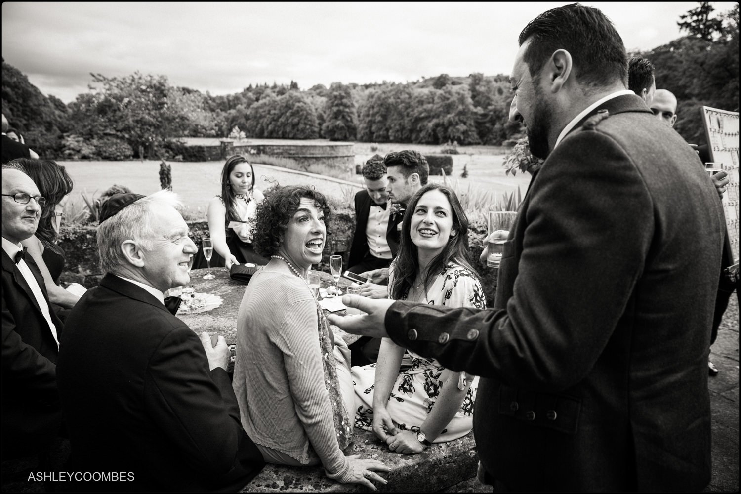 Duntreath Castle Jewish wedding