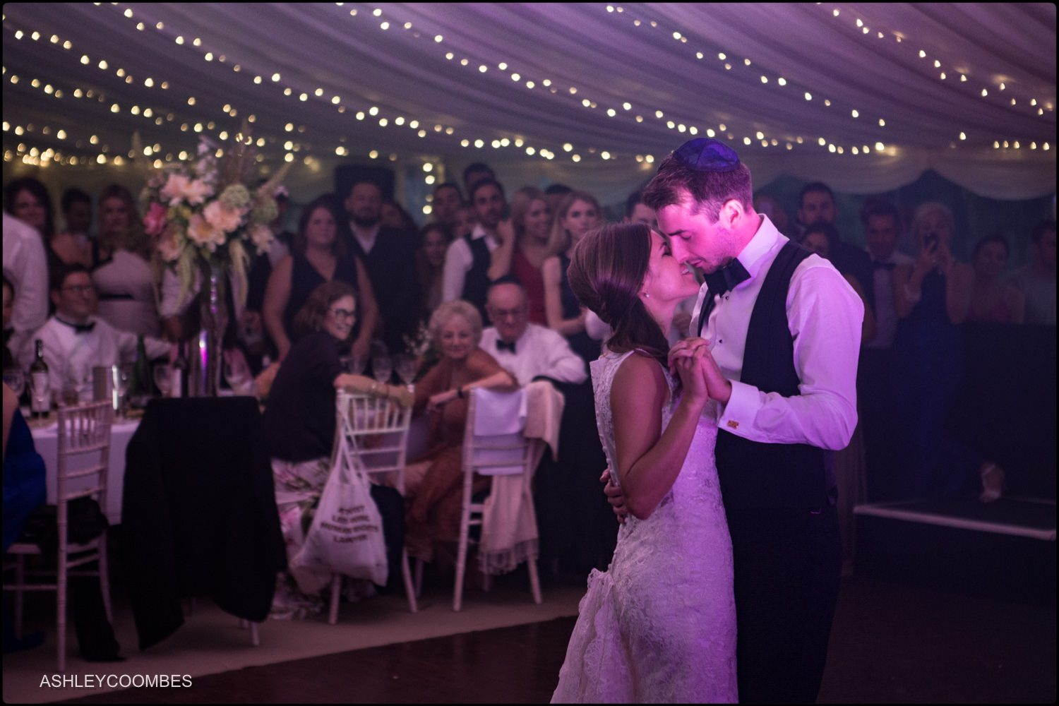 Duntreath Castle wedding first dance