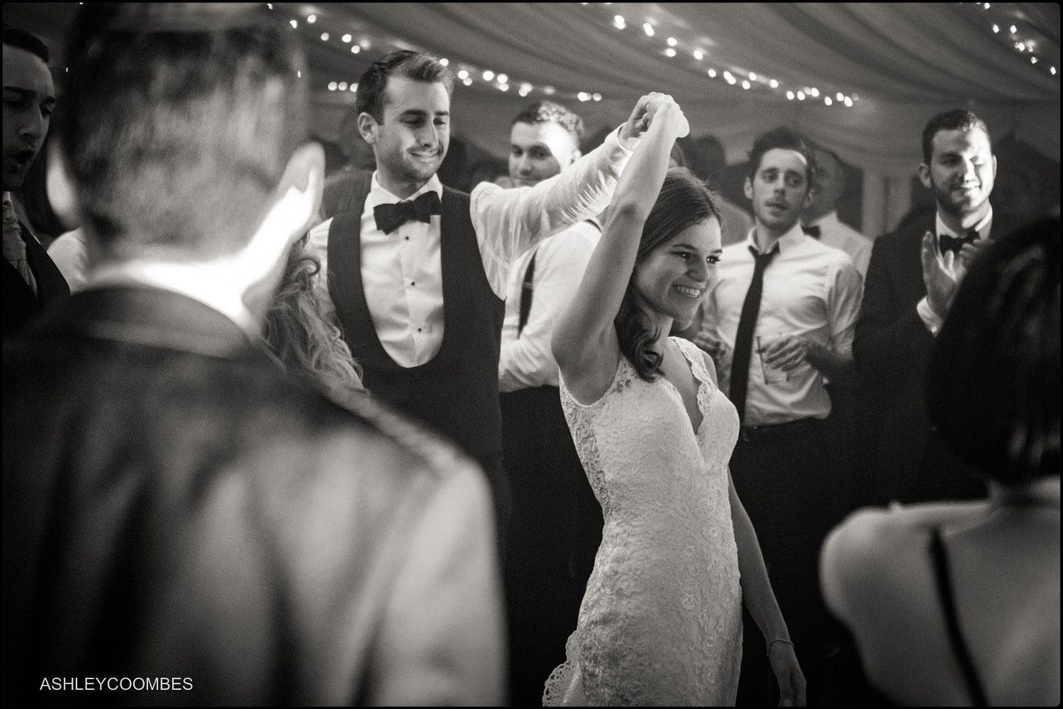 Duntreath Castle wedding dancing