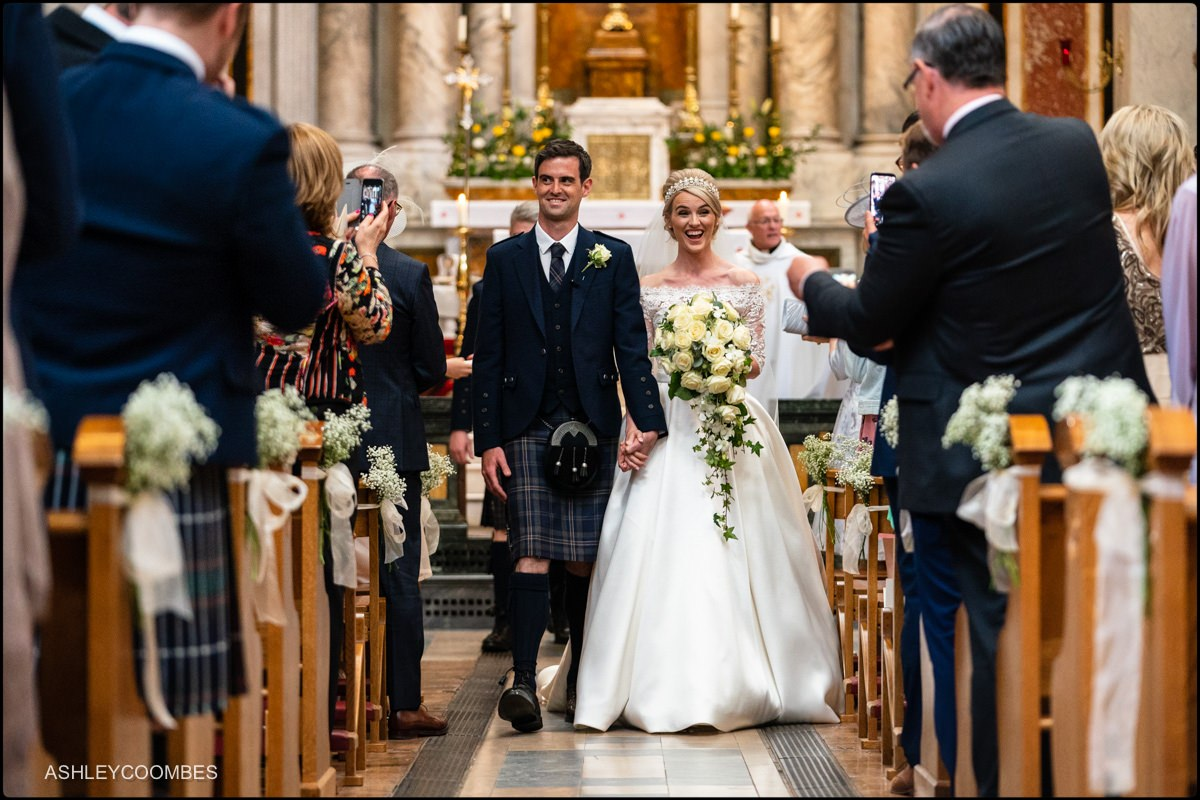 St Aloysius Church wedding