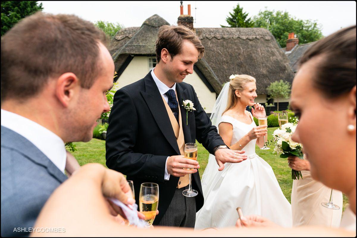Marquee wedding