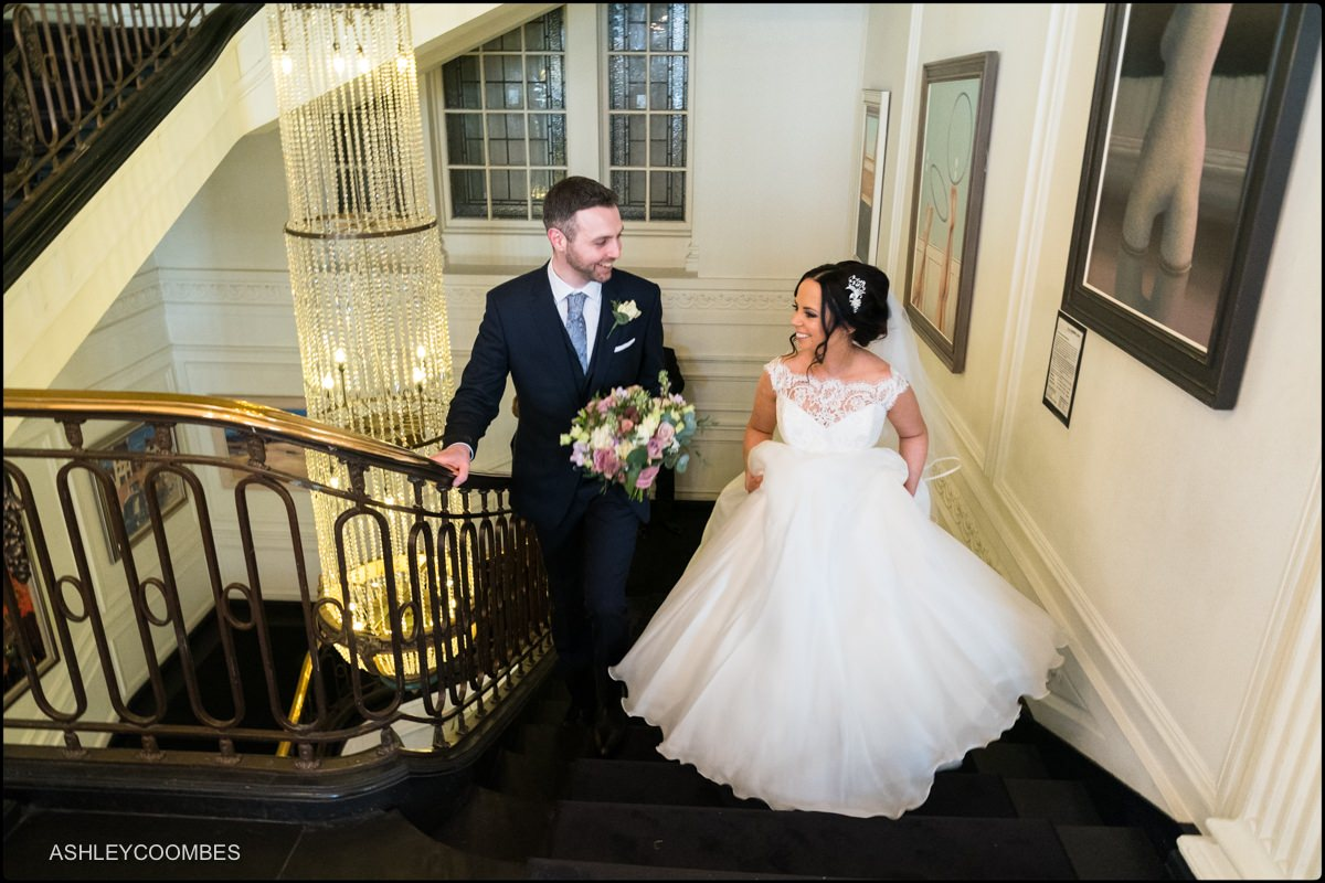 The Blythswood Hotel wedding photographer