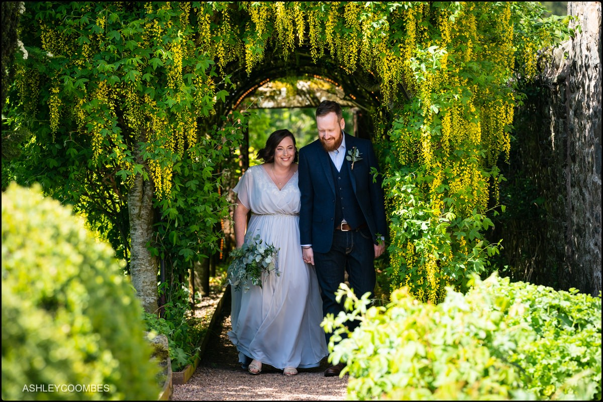 Aikwood Tower wedding