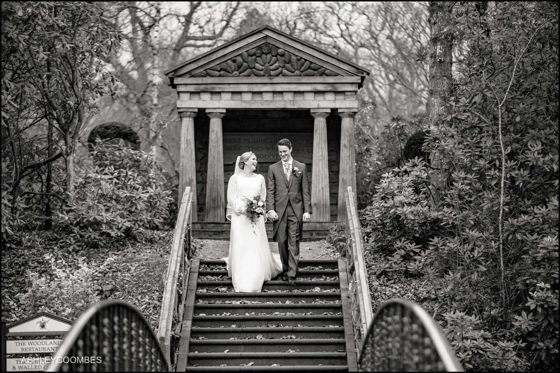 wedding portrait in grounds